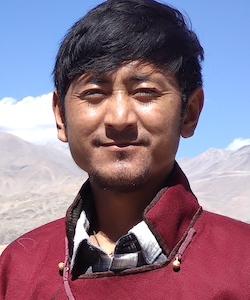Board member Tsewang Dorjay